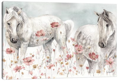 Wild Horses III Canvas Art Print