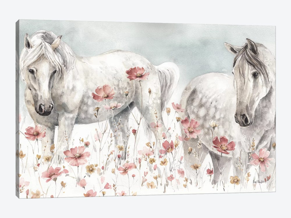 Wild Horses III by Lisa Audit 1-piece Canvas Art
