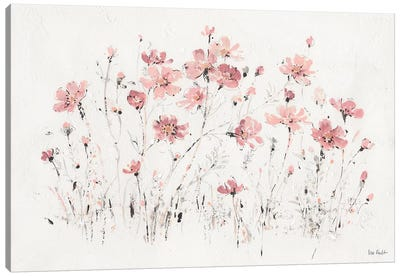 Wildflowers Pink I Canvas Art Print