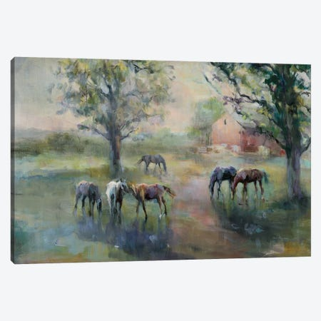 Daybreak On The Farm Crop II Canvas Print #WAC9166} by Marilyn Hageman Canvas Artwork