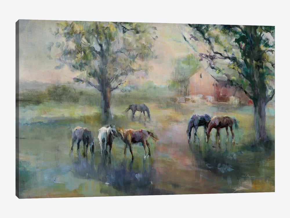 Daybreak On The Farm Crop II by Marilyn Hageman 1-piece Canvas Artwork