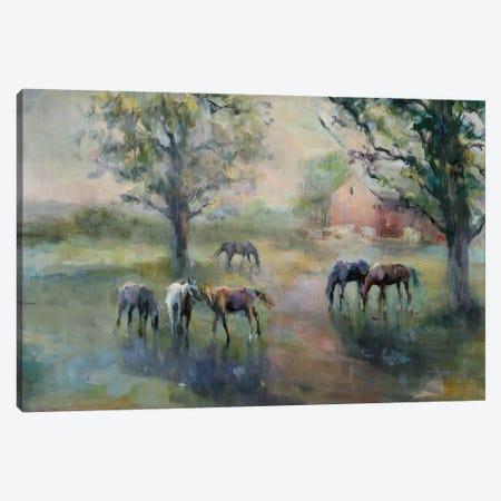 Daybreak On The Farm Crop II Canvas Print #WAC9166} by Marilyn Hageman Canvas Artwork
