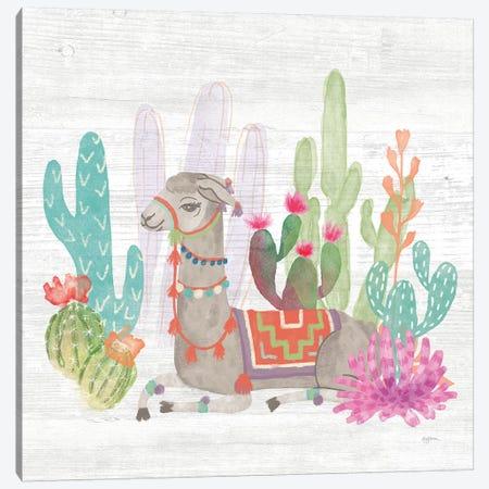 Lovely Llamas I Canvas Print #WAC9167} by Mary Urban Canvas Art