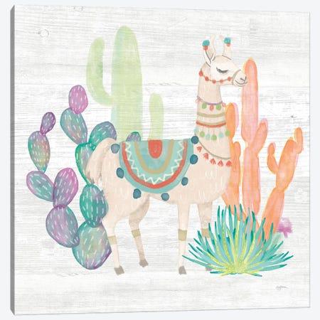 Lovely Llamas II Canvas Print #WAC9168} by Mary Urban Canvas Art Print