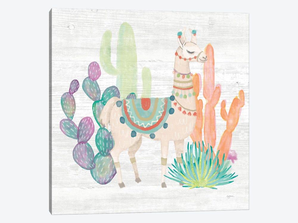 Lovely Llamas II by Mary Urban 1-piece Canvas Wall Art