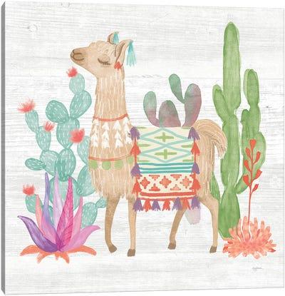 Lovely Llamas IV Canvas Art Print
