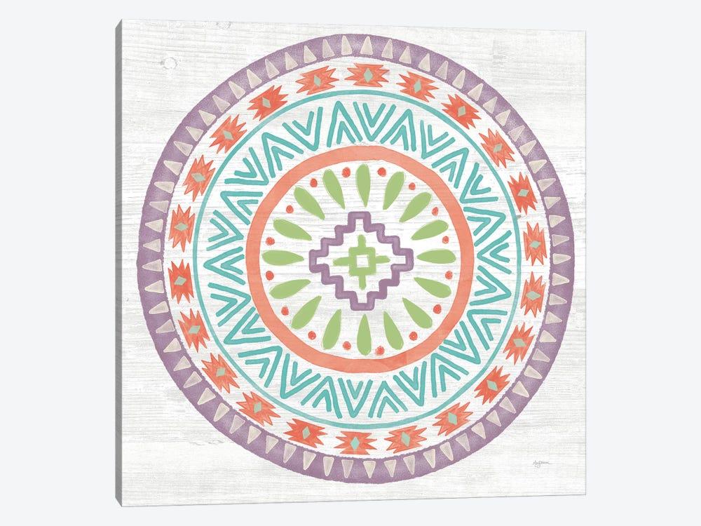 Lovely Llamas Mandala II by Mary Urban 1-piece Art Print