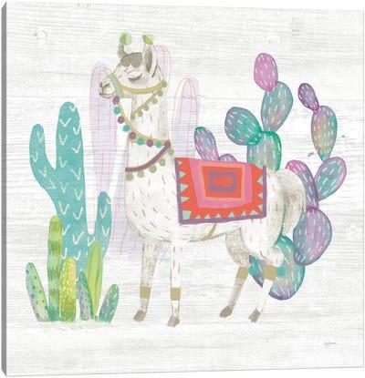 Lovely Llamas V Canvas Art Print
