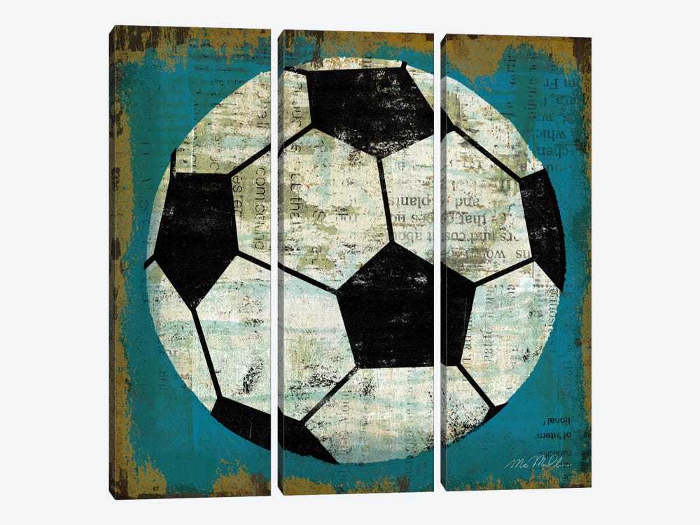 Ball IV by Michael Mullan 3-piece Canvas Art