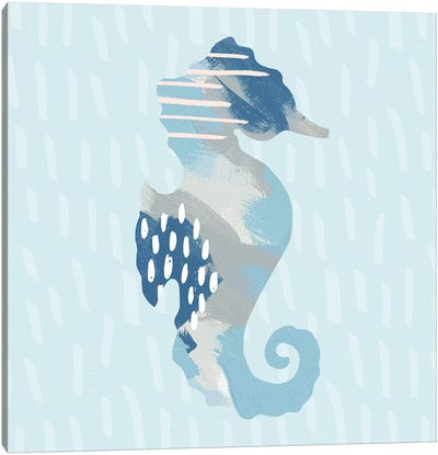 Coastal Cool I Canvas Art Print