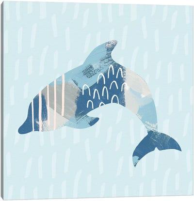 Coastal Cool III Canvas Art Print