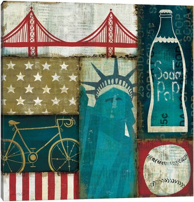 American Pop I Canvas Print #WAC918