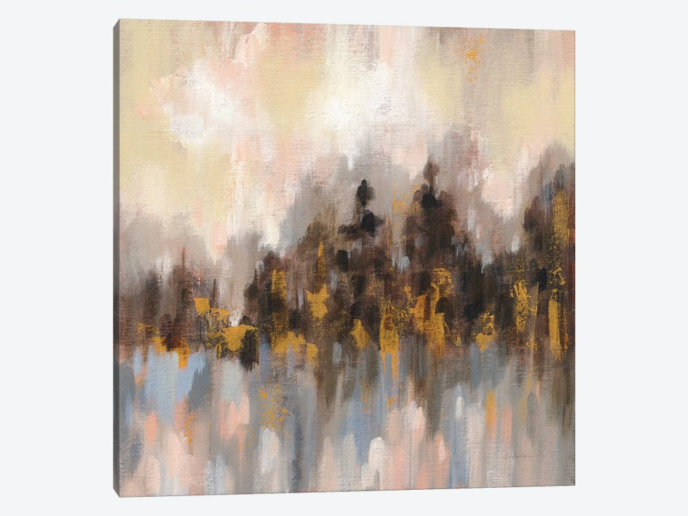 Blushing Forest I by Silvia Vassileva 1-piece Canvas Artwork