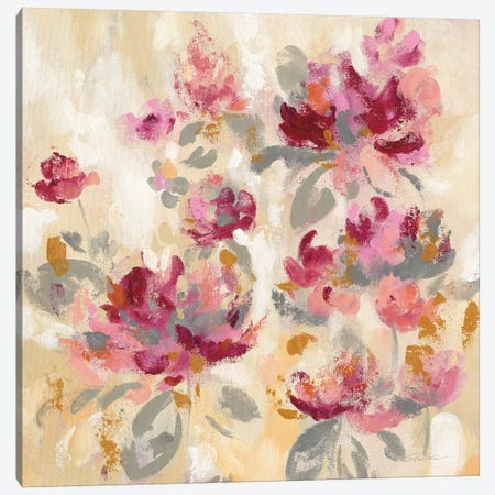 Floral Reflections II Canvas Print #WAC9197} by Silvia Vassileva Canvas Art Print