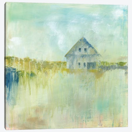 Across The Fields Canvas Print #WAC9199} by Sue Schlabach Canvas Wall Art