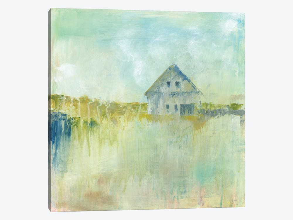 Across The Fields by Sue Schlabach 1-piece Canvas Artwork