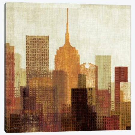 Summer in the City II Canvas Print #WAC920} by Michael Mullan Art Print
