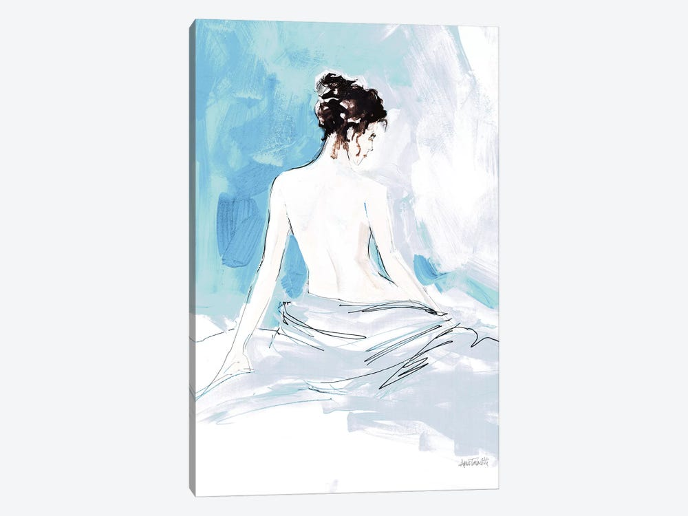 Nude I, Blue by Anne Tavoletti 1-piece Canvas Artwork