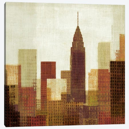 Summer in the City III Canvas Print #WAC921} by Michael Mullan Art Print