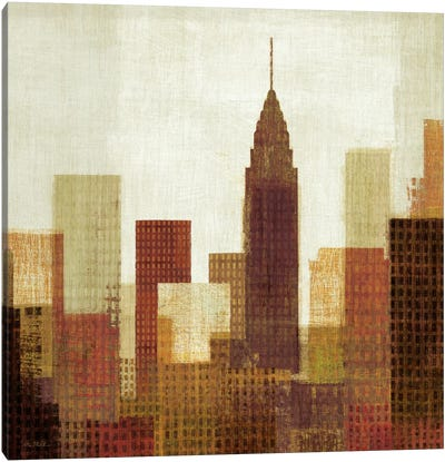 Summer in the City III Canvas Art Print