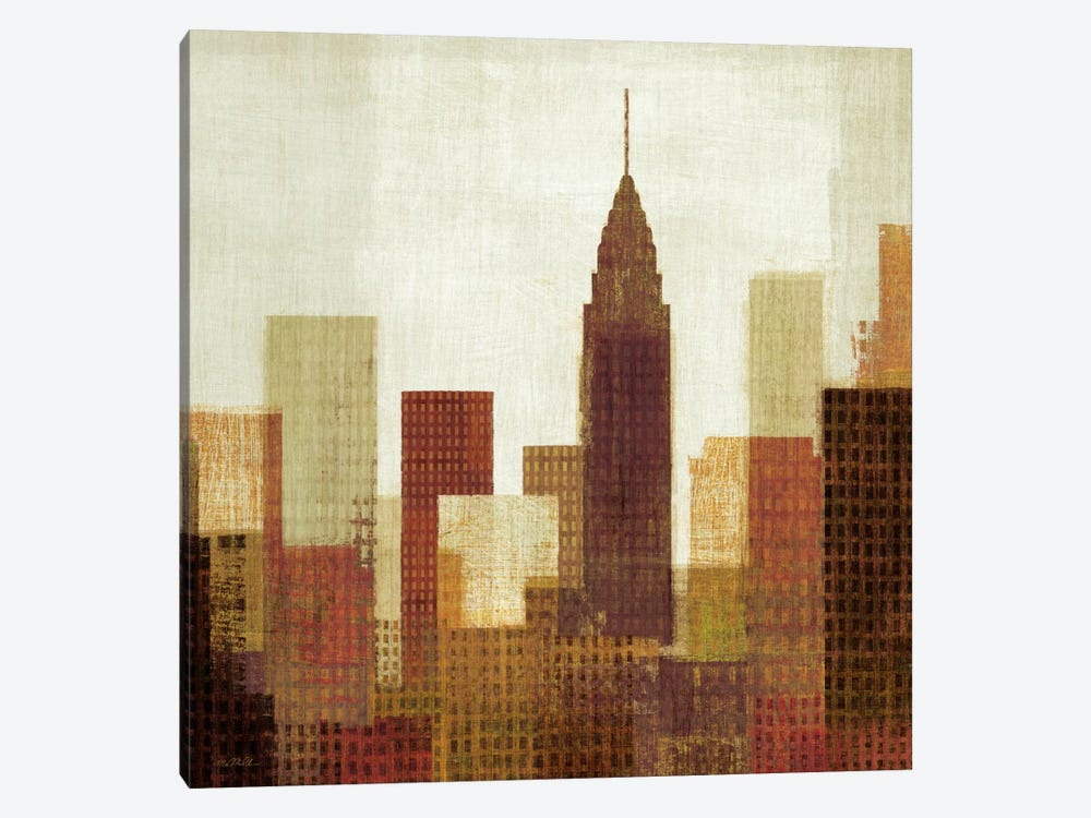 Summer in the City III by Michael Mullan 1-piece Canvas Print