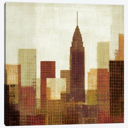 Summer in the City III Canvas Print #WAC921} by Michael Mullan Art Print