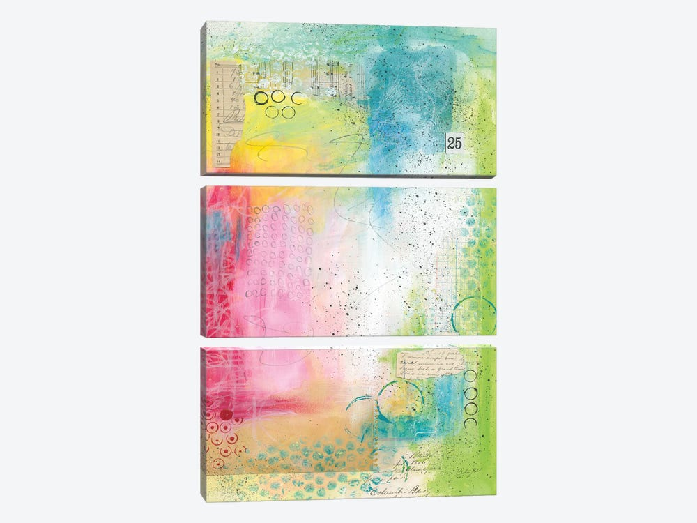 Collage 25 by Courtney Prahl 3-piece Canvas Print