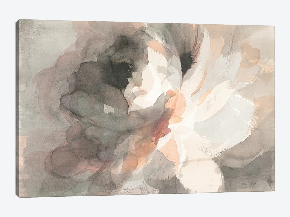 Abstract Peony by Danhui Nai 1-piece Canvas Art