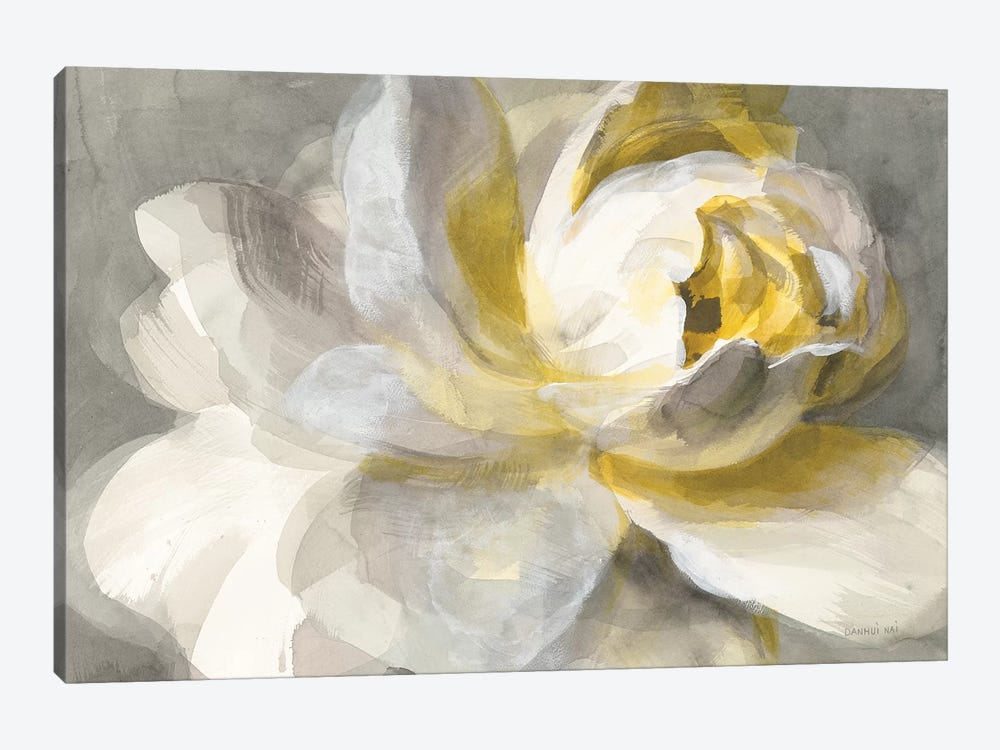 Abstract Rose by Danhui Nai 1-piece Art Print
