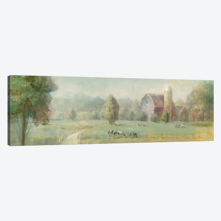 Tranquil Farm Canvas Print #WAC9229} by Danhui Nai Canvas Wall Art