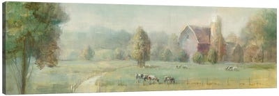 Tranquil Farm Canvas Art Print