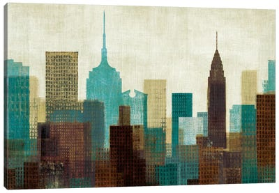 Summer in the City I Canvas Art Print