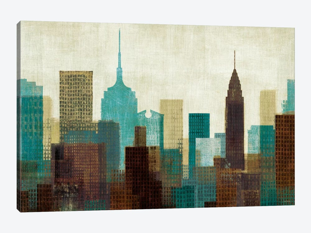 Summer in the City I by Michael Mullan 1-piece Canvas Art