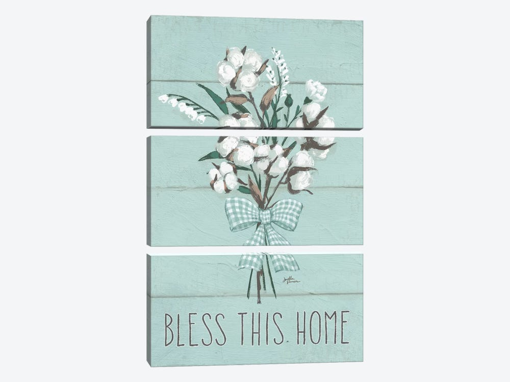 Blessed II, Mint by Janelle Penner 3-piece Art Print