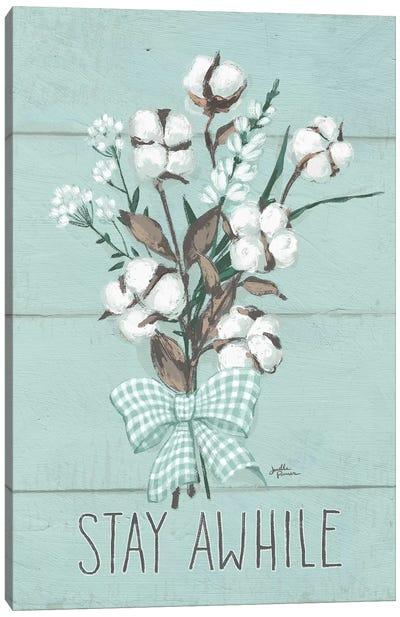Blessed III, Mint Canvas Art Print