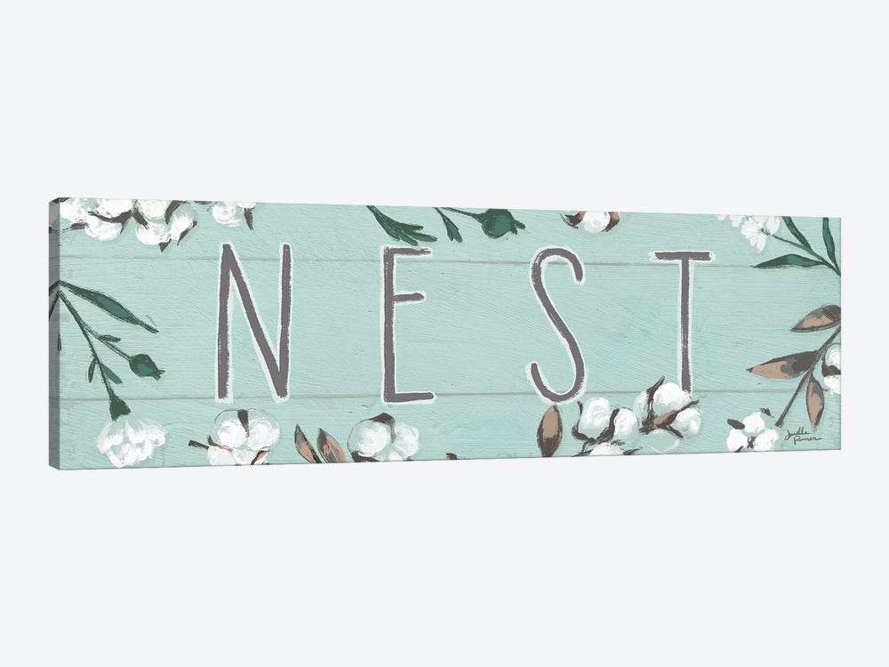 Blessed XI, Mint by Janelle Penner 1-piece Canvas Wall Art