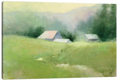 Homestead Canvas Art Print