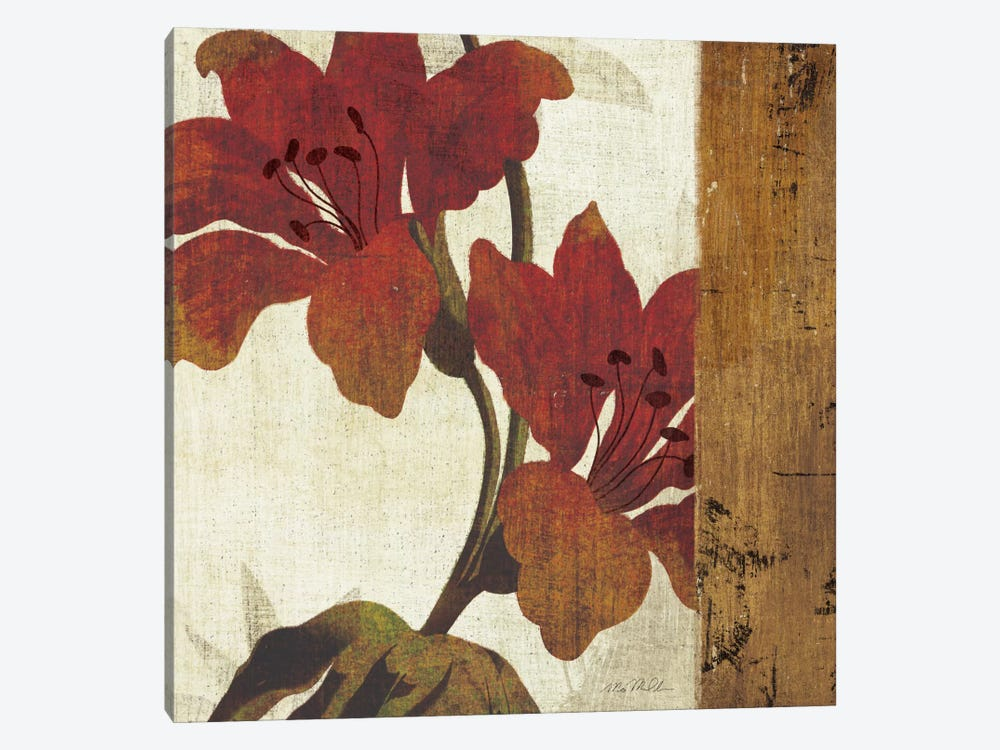 Floral Harmony III by Michael Mullan 1-piece Canvas Wall Art