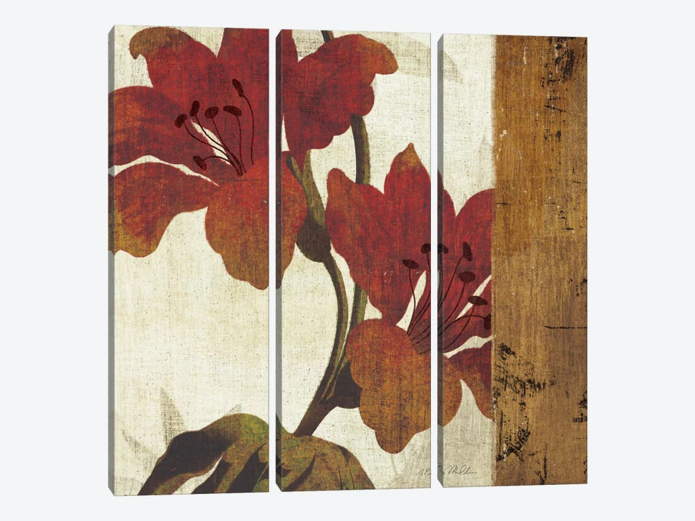 Floral Harmony III by Michael Mullan 3-piece Canvas Art