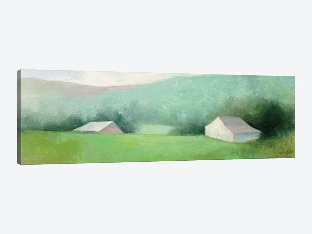 Looking Down The Valley by Julia Purinton 1-piece Canvas Art