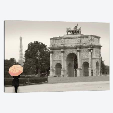 Paris In The Rain III Canvas Print #WAC9258} by Sue Schlabach Art Print