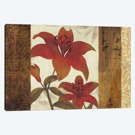 Floral Harmony I Canvas Print #WAC925} by Michael Mullan Canvas Artwork