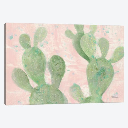 Cactus Panel III Canvas Print #WAC9267} by Albena Hristova Canvas Art Print