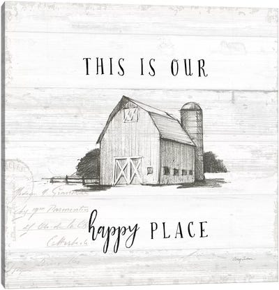 Farm Life IV Shiplap Canvas Art Print