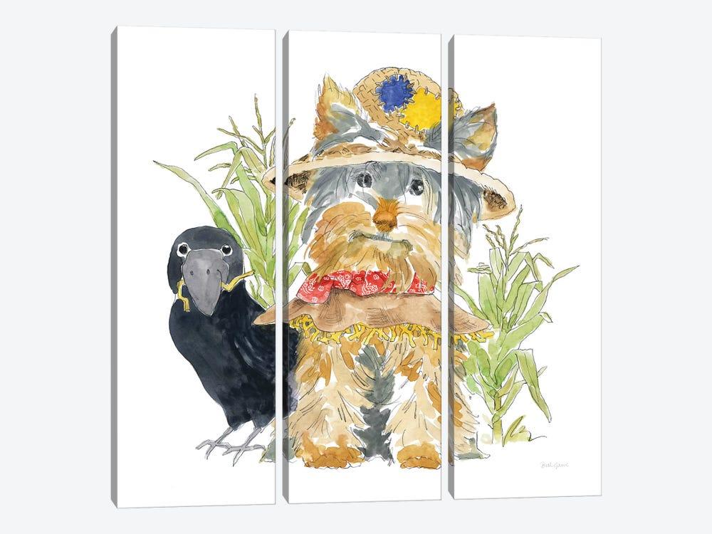 Halloween Pets IV by Beth Grove 3-piece Canvas Artwork