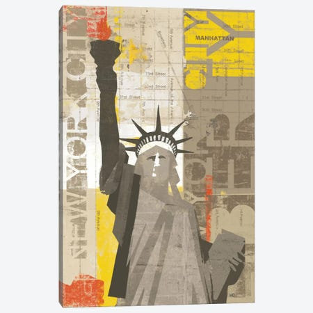 Liberty Canvas Print #WAC927} by Michael Mullan Canvas Artwork