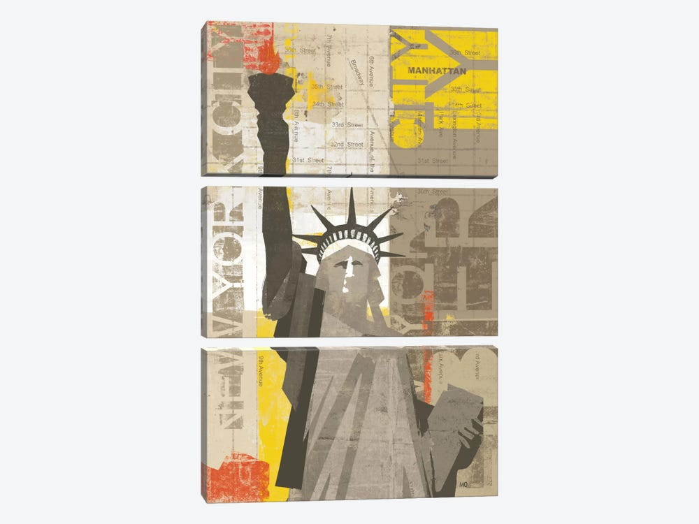 Liberty by Michael Mullan 3-piece Art Print