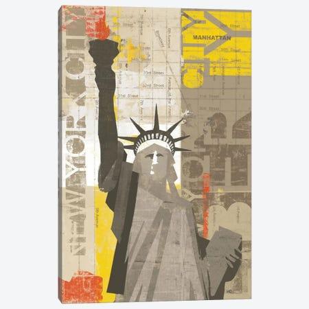 Liberty Canvas Print #WAC927} by Michael Mullan Canvas Artwork