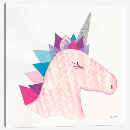 Unicorn Power I Canvas Print #WAC9286} by Courtney Prahl Art Print