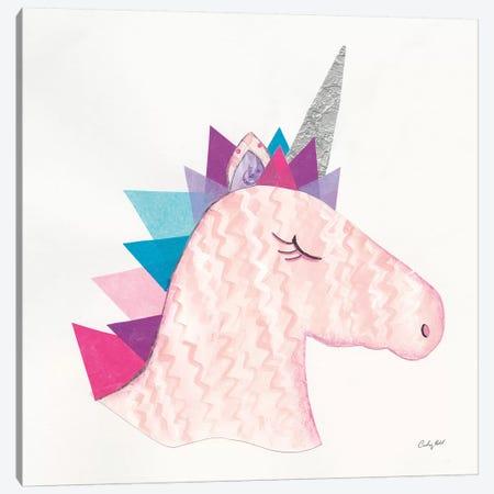 Unicorn Power I Canvas Print #WAC9286} by Courtney Prahl Art Print